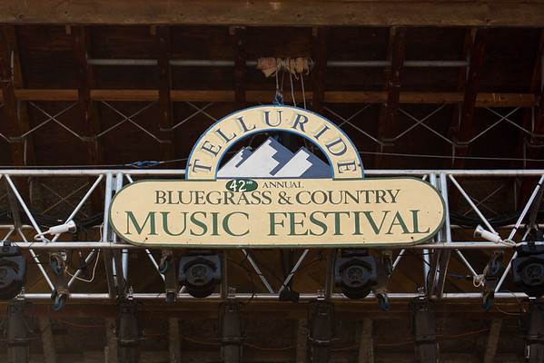 Telluride Bluegrass Festival June 2015